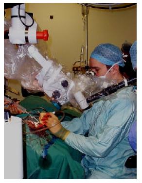Sistema di feedback aptico usato per la pianificazione di interventi chirurgici.